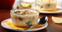 Lemon Chicken Soup with kale and quinoa