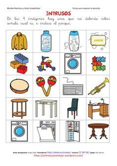 intrusos arassac-2 Paint Your House, Co Teaching, Conversational English, Kindergarten Worksheets, Happy Kids, Preschool Crafts, Speech Therapy, Activities For Kids, How To Plan