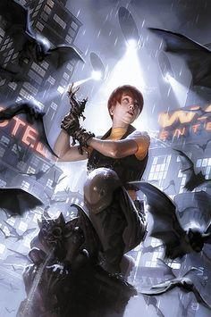 Batgirl 25 by Alex Garner