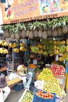 Fruit Stall - Kathmandu, Nepal
