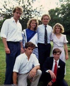 Christopher Kennedy, Kerry Kennedy, Joe Kennedy II and Rory Kennedy. Max Kennedy and Michael Kennedy