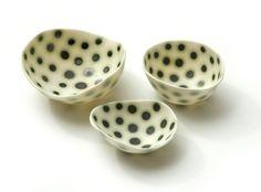 Copper Spot Dishes by Sandra Bowkett