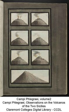 Pietro Fabris, From: Campi Phlegraei, Observations on the Volcanoes of the Two Sicilies