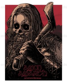 Amon+Amarth+Poster+by+Diegoflower+on+CreativeAllies.com