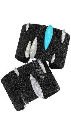 De Grisogono Galuchat Cuffs