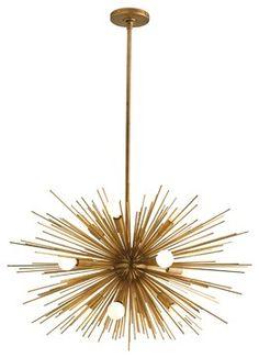 Arteriors Zanadoo 12L Iron Chandelier - eclectic - chandeliers - Zinc Door