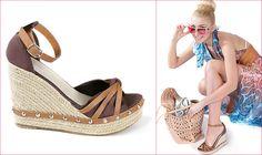 Босоножки на танкетке и туфли на удобном каблуке – идеальный вариант для лета!