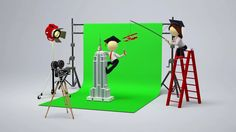 Hollywood's History of Faking It | The Evolution of Greenscreen Compositing on…