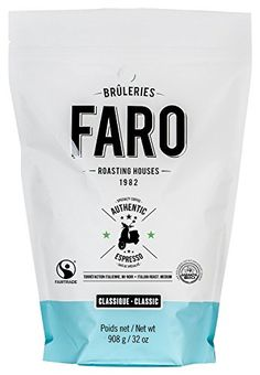 Faro Roasting Houses Authentic Italian Espresso Whole Coffee Beans 2 lbs ** More info could be found at the image url.