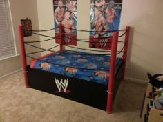 Wrestling Bedroom Decor Fair A Wrestling Ring Bed No One Would Sleepjust Play P  My Dream 2018