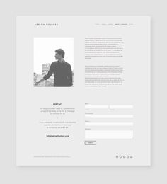 Adrian Foulkes - Musician on Behance