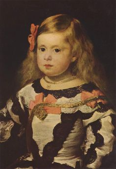 The Infanta Margarita by: Diego Velazquez - Buscar con Google
