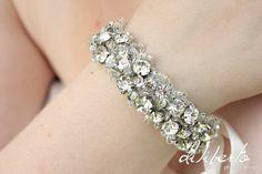 Swarovski Crystal Bridal Bracelet  Kate our by BridalCoutureGirls, $64.50
