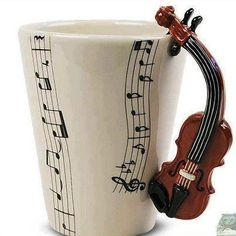 music- Charlie's greatest amusements... cello/over sized violins and hot chocolate..