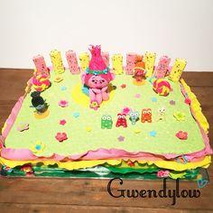 Tarta de la princesa Poppy - Trolls Cake - Ñam, Ñam!!!