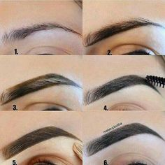 Make Up; Make Up Looks; Make Up Augen; Make Up Prom;Make Up Face; How To Make Eyebrows, Filling In Eyebrows, Perfect Eyebrows, Shape Eyebrows, Arched Eyebrows, Perfect Makeup, Eyebrow Makeup Tips, Best Makeup Tips, Eyebrow Pencil