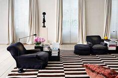 Gardenista ; Remodelista ; curtains ; Belgian design ; Design Ideas ; Axel Vervoordt - Provided by Gardenista