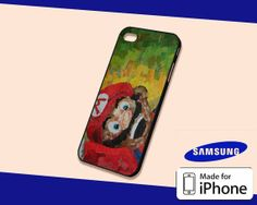 Super Mario Bros Collage Art Case for iPhone 5s/5c by KopiMiring, $13.99