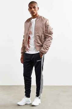 adidas + UO Fitted Track Pant - Urban Outfitters