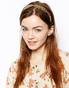 ASOS Leaf Hairband you can add flowers too !