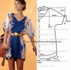Moldes Moda por Medida: Dress Easy to Do - 6