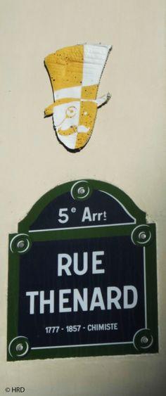 Mr Ryde (Artiste : ?)_Paris (France)_Rue Thénard (5è Arrt)_2014-05-07 © Hélène Ricaud-Droisy (HRD)