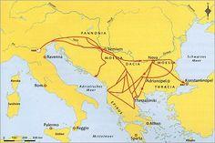 pannonia cartina - Cerca con Google