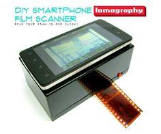 Picture of DIY Smartphone Film Scanner - http://www.instructables.com/id/DIY-Smartphone-Film-Scanner/?ALLSTEPS