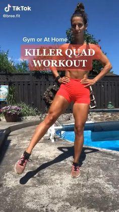 Fitness Workouts, Gym Workout Videos, Fitness Workout For Women, Fitness Goals, Leg Butt Workout, Band Workout, Muscular Legs Workout, Gluteus Workout, Killer Leg Workouts