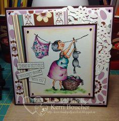 Kerri has Senior-ita Sylvia from Stamping Bella.  More details on the blog.