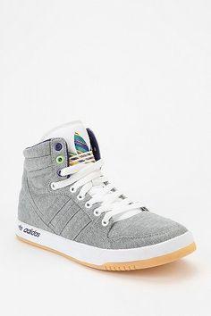 ++ adidas court attitude high top sneaker