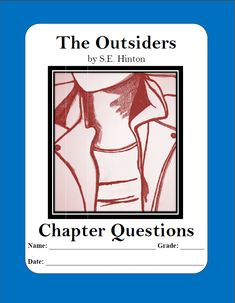 """a book analysis on the outsiders by s e hinton Few books come steeped in an aura as rich as s e hinton's novel """"the  outsiders,"""" which celebrates its 40th anniversary this year at a time."""