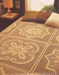 Crochet: Bedspread c