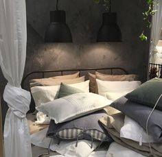 KOPARDAL Bedroom 2018, Master Bedroom, Ikea Interior, Interior Design, Bedroom Inspo, Bedroom Decor, Bedroom Ideas, Small Apartments, Small Spaces
