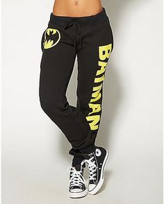 Batman Black Jogger - Spencer's
