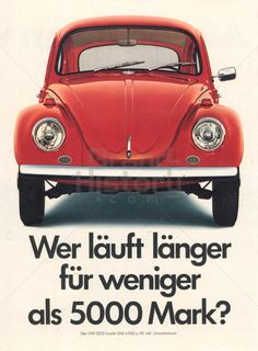 VW - VW 1200 · Wer läuft länger für weniger als 5000 Mark?