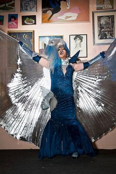 professional drag queen | Ice's Goddess Queen, drag queen costume by ~BottegadelCostume on ...