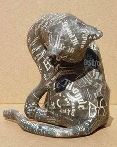 Paper Mache Sculpture by Aude Goalec & Nicole Jacobs