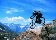 On a peak in Val di Sole.