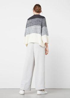 Oversize wool-blend sweater | MANGO