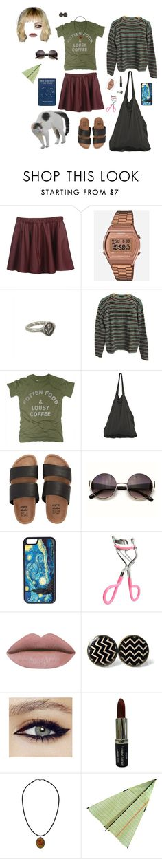 """""""What I'd wear"""" by prusius on Polyvore featuring Casio, Pyrrha, Prada, Worn Free, Laneus, Billabong, CellPowerCases and Topshop"""