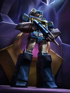 Decepticon Soundwave Artwork From Transformers Legends Game