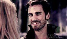 Pin for Later: 37 Reasons You're Deeply in Love With Once's Captain Hook Sometimes his smiles are just innocent and sweet.