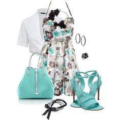 """Spring Floral"" by corenna-obrien on Polyvore"