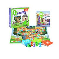 Q's Race to the Top Board Game with Book