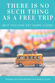 There is no such thing as a free trip, but you can get really close. Find out how with this article! #freetrip #freetravel #cheaptravel #travelforfree #points