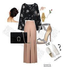 """""""casual look"""" by deselaunida on Polyvore featuring Cushnie Et Ochs, Alexandre Birman, Gucci, Free People, Rolex, Hanky Panky, Gap, casualoutfit, fashionset and casuallook"""