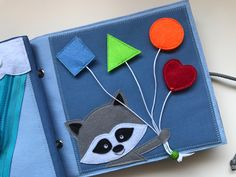 Quiet book busy book activity book soft book sensory toy