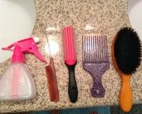 BIracial Hair Care 101: How to buy the right combs and brushes for biracial hair.
