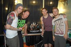 Shinedown. Awesome dudes!